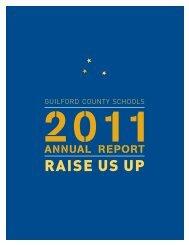 RAISE US UP - Achieve Guilford