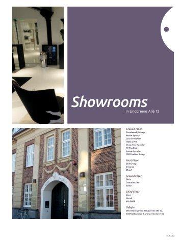 Showrooms in Lindgreens Allé 12 - modebranchen.NU