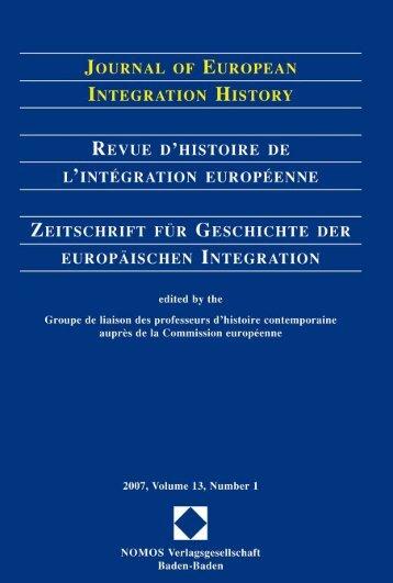 2007, Volume 13, N°1 - Centre d'études et de recherches ...