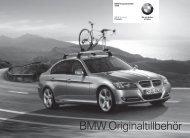 BMW Originaltillbehör