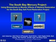 The South Bay Mercury Project: Using Biosentinels to Monitor ...