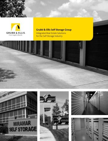 Grubb & Ellis Self Storage Group
