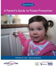A Parent's Guide to Poison Prevention - Child Safety Link