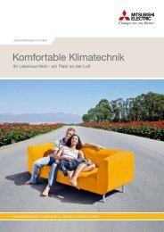 Komfortable Klimatechnik - Mitsubishi Electric