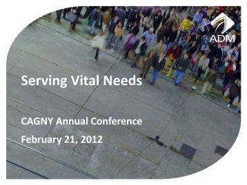 ADM CAGNY Presentation