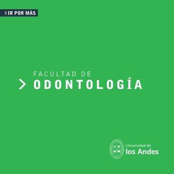 ODONTOLOGÍA - Universidad de los Andes - Admisión