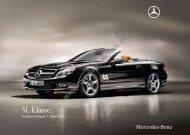 Preisliste Mercedes-Benz SL, 1/2010 - mobilverzeichnis.de