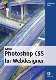 Adobe Photoshop CS5 für Webdesigner : Stichwortverzeichnis - Mitp