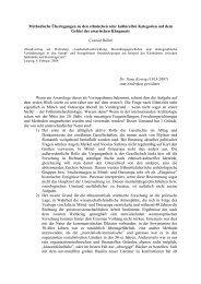 Methodische Überlegungen zu den ethnischen oder kulturellen ...