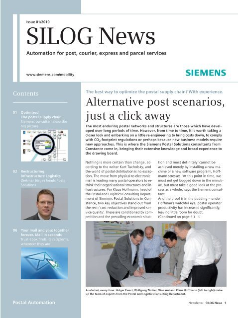 SILOG News - Siemens Mobility