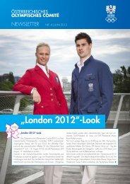 """""""London 2012""""-Look - ÖOC"""