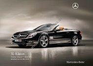 Preisliste Mercedes-Benz SL, 3/2010 - mobilverzeichnis.de