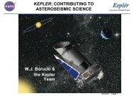 The Kepler Mission: Bill Borucki