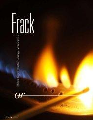 Frack or Bust - Green Choices - Cornell University