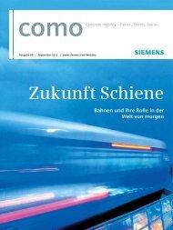 Zukunft Schiene - Siemens Mobility