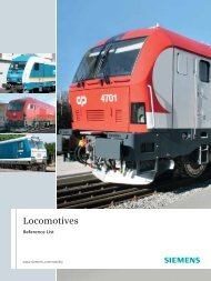 Locomotives Reference List - Siemens Mobility