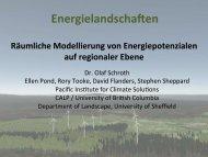 Energielandschaften - ARL