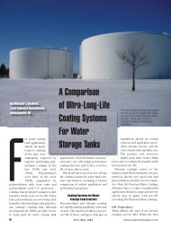 A Comparison of Ultra-Long-Life Coating Systems For ... - PaintSquare
