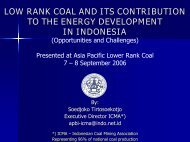 low rank coal and its contribution to the energy development in ...