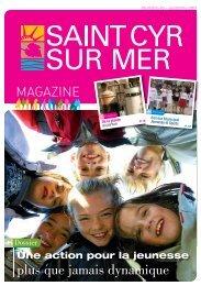 Télécharger le 10 ème numéro-Automne 2011 - Mairie de Saint Cyr ...