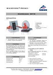 3B SCIENTIFIC® PHYSICS