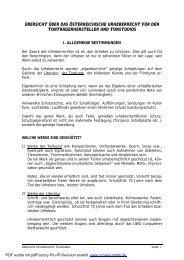 Übersicht über das österreichische Urheberrecht für ...