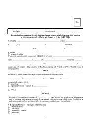 Legge 13/89 Richiesta contributo abbattimento barriere architettoniche
