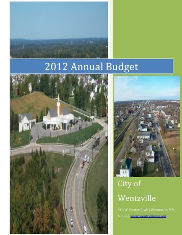 2012 Annual Budget - The City of Wentzville | Missouri