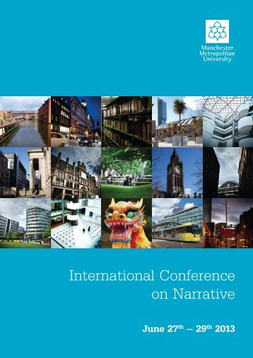 International Conference on Narrative - Humanities, Languages and ...