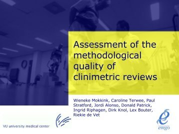 presentation systematic review - EMGO