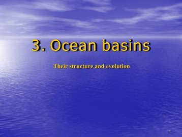 Ocean basins 3