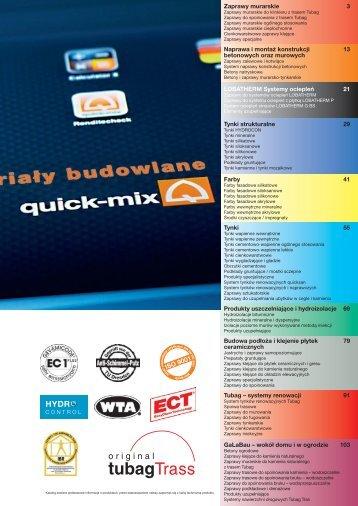 systemy renowacji 91 Zaprawy murarskie 3 Prod - Quick-Mix