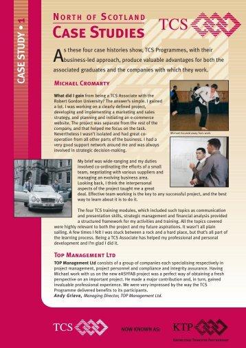 Case Studies - Robert Gordon University