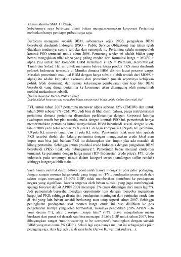 Subsidi BBM.pdf - The Mail Archive