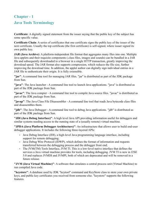 Java-Tools(pdf) - DOC SERVE