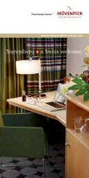 View our hotel brochure - Mövenpick Hotels & Resorts