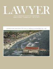 Summer 2013 Lawyer Magazine - Hillsborough County Bar ...