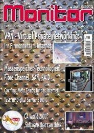 Die komplette MONITOR-Ausgabe 6/2000 können Sie