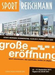 Service - Reischmann · Mode · Sport · Ravensburg