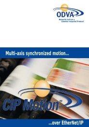 CIP Motion Brochure - ODVA