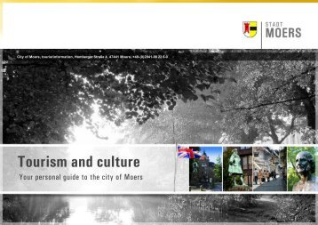 City of Moers - Tourism and culture
