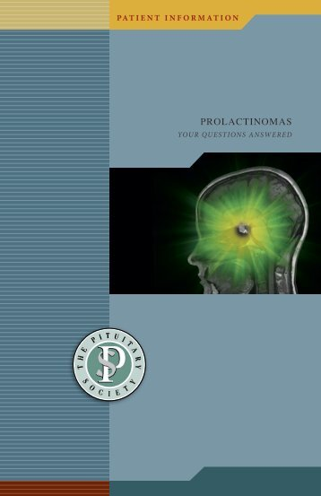 Prolactinomas (EN) (pdf) (2.1mb) - Pituitary Society