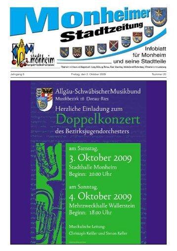 Monheimer Stadtzeitung - Stadt Monheim