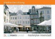 moersKonzept | masterplan Innenstadt - Stadt Moers