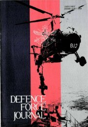 ISSUE 20 : Jan/Feb - 1980 - Australian Defence Force Journal