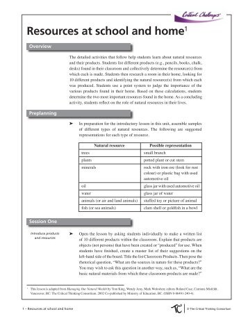 Download PDF - The Critical Thinking Consortium