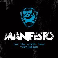 for the craft beer revolution - BrewDog