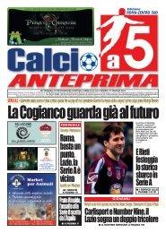 calcio a 5 anteprima 29/11 CS
