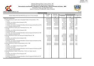 PÁGINA: 1 DE 7 29/03/2012 11:11 Prefeitura Municipal Sao ...