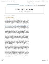 POPSURFING.COM_ I Love Bull Riding! - Michael Giltz